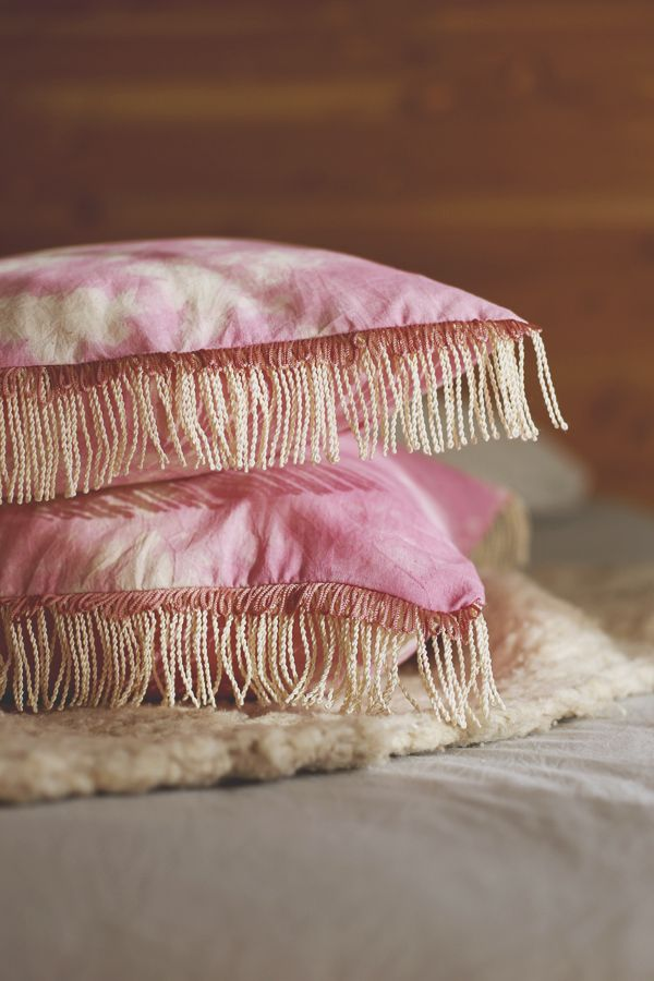 DIY cojines boho  /  Boho cushion DIY