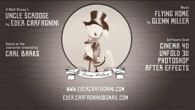 Uncle Scrooge by Eder Carfagnini (2013)