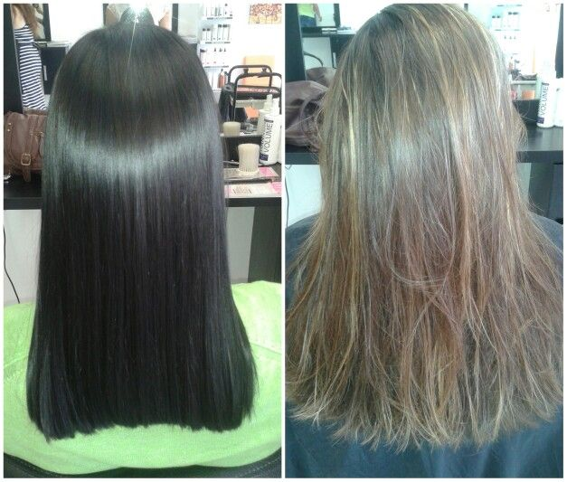 Before and after #duethairdesign