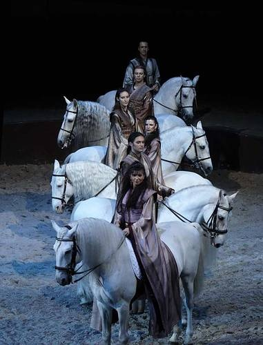 """Cavalia's """"Carousel"""" is a breathtaking moment of visual poetry and performance."""