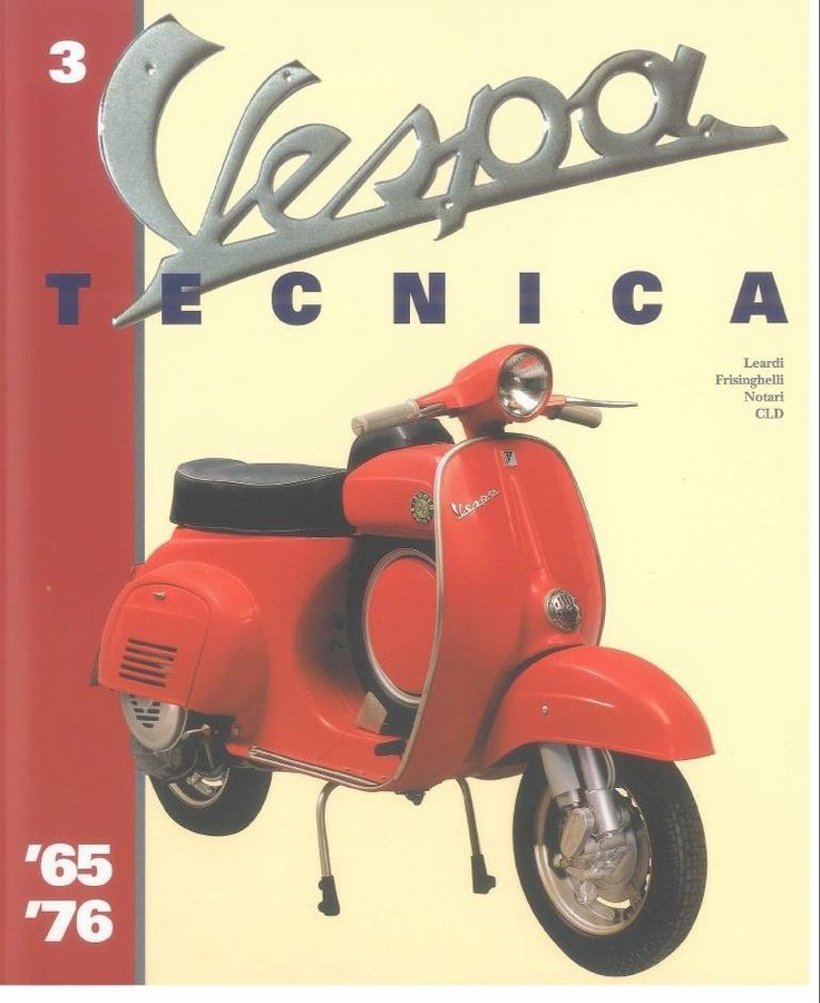 Superb Vespa Tecnica N Autor Leardi Frisinghelli Notari CLD Verlag