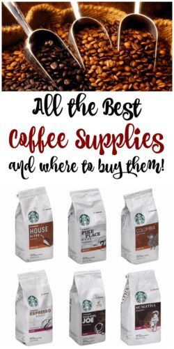 Did you know that you can buy pretty much every coffee supply that your heart desires on eBay?