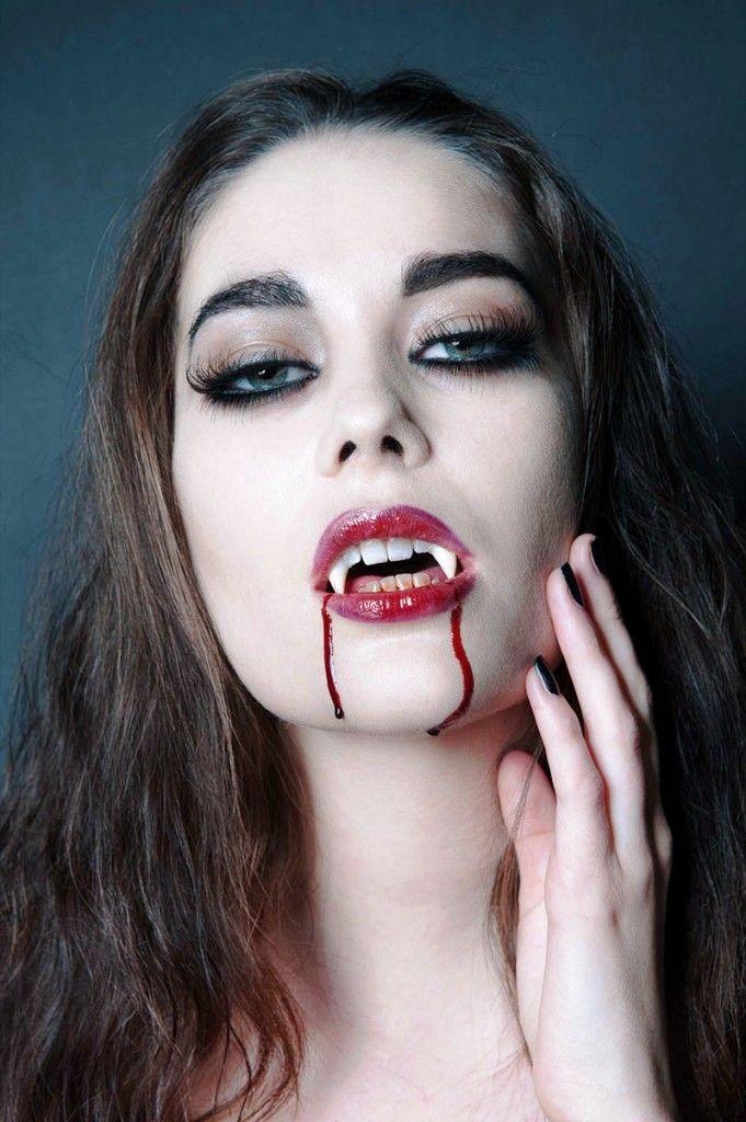 20 Halloween Vampire Makeup Ideas for Women | Vampire makeup ...