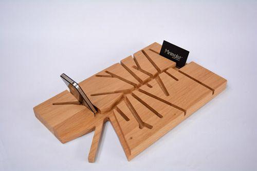 legno portaoggetti