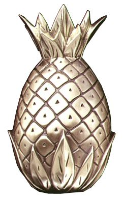 Ever since hearing the origin of this tradition, Iu0027ve looked forward to a pineapple  door knocker on my