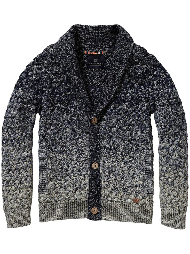 Knitted Cardigan | Pullover | Boy's Clothing at Scotch & Soda