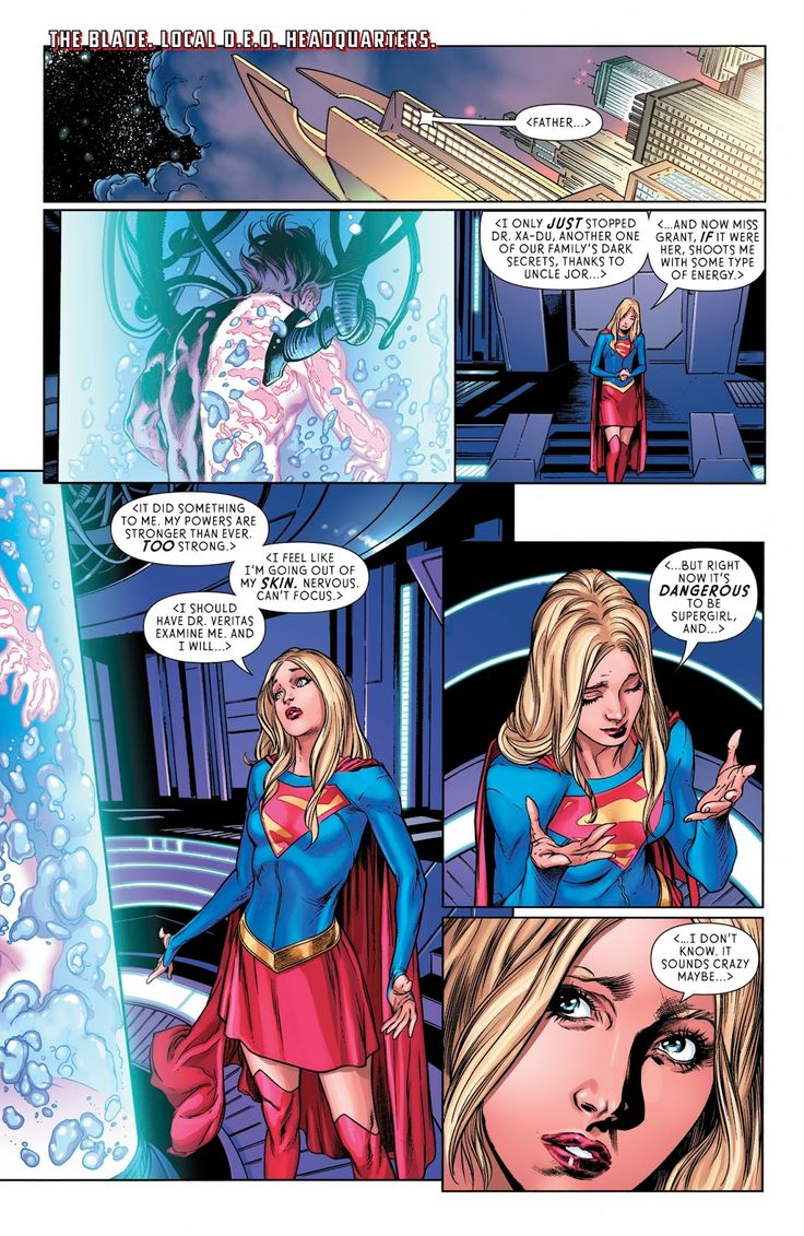 Supergirl (2016) Issue #12 - Read Supergirl (2016) Issue #12 comic online in high quality