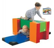 Kids Soft Foam Play Block Tower  Can be reconfigured many ways    #kidsplay #fun