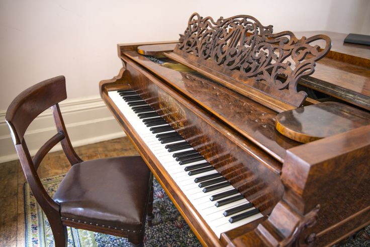 Piano sits in main ballroom