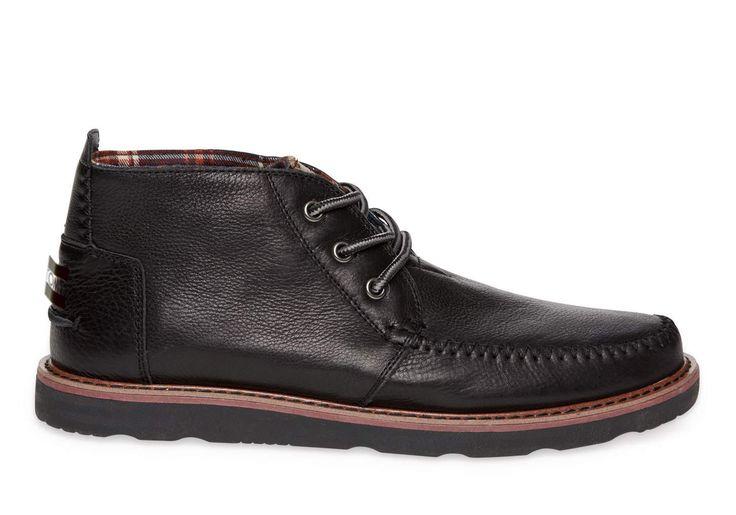 TOMS Surprise Sale: Men's Full Grain Leather Black Chukka Boots $32.25 Women's Suede Booties $29.75 Kids from ...