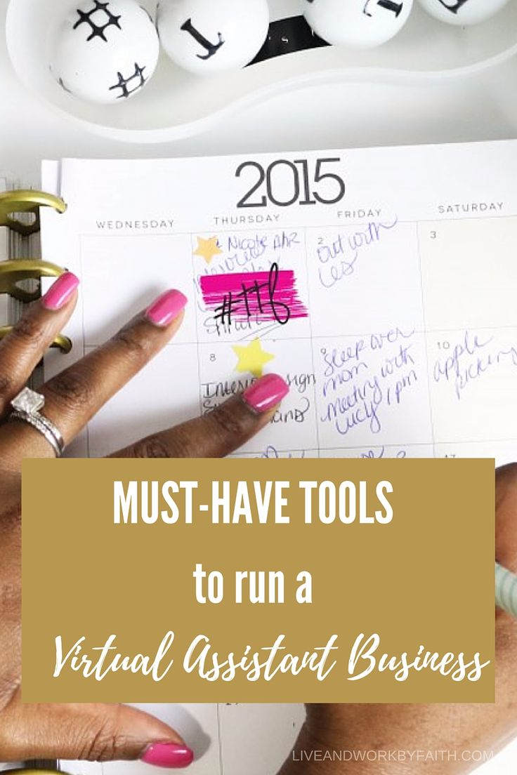 What tools do you need to run a successful virtual assistant business? Find out my top tools to run my own online business.