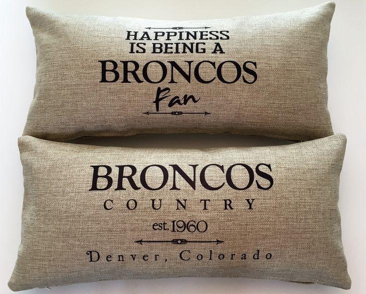 Broncos Fan gifts, cute Broncos presents, Denver broncos décor, broncos ideas.