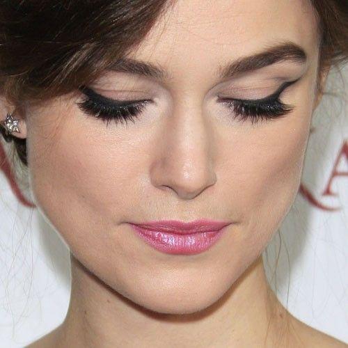 Makeup (less pink eye shadow)