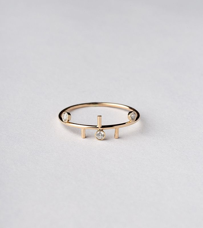 Spectacular  Unique Engagement Rings for the Unconventional Bride StyleCaster