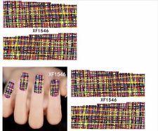 Nagelsticker Nail Art Tattoo Fingernägel Nagel klebe Nageldesign Sticker N192