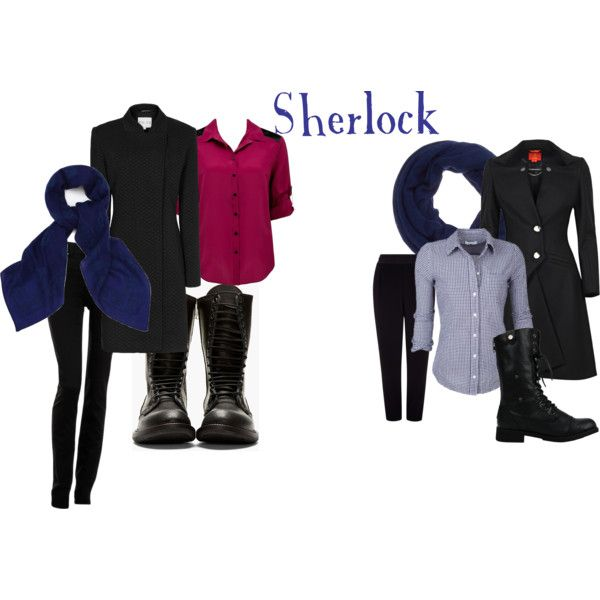 """""""BBC's Sherlock inspired outfits - Sherlock"""" by a-geeks-fashion on Polyvore"""