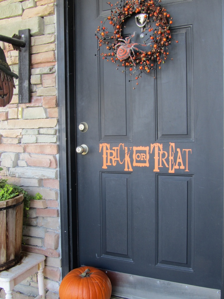 Decorating Ideas > 7 Best Ideas About Halloween On Pinterest ~ 160801_Halloween Door Tricks