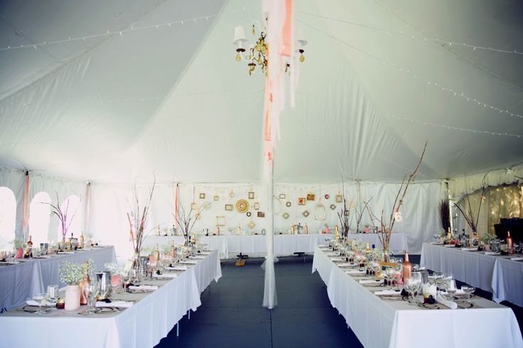 outdoor wedding, under the tent, gold, blush, pink