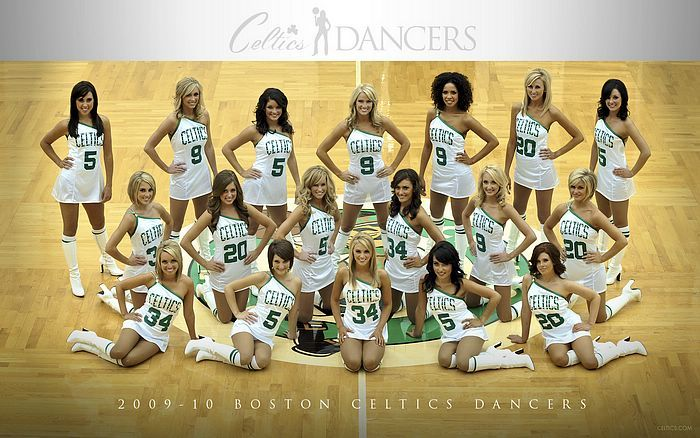 dance Team Photo Ideas   -2010 Team, Desktop of NBA Celtics Dancer, boston celtics dance team ...