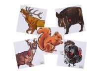 Umarex Paper Targets, 100ct: Heavy weight animal paper targets 5 different animal designs (deer,… #AirGuns #AirSoftGuns #AirGunAccessories