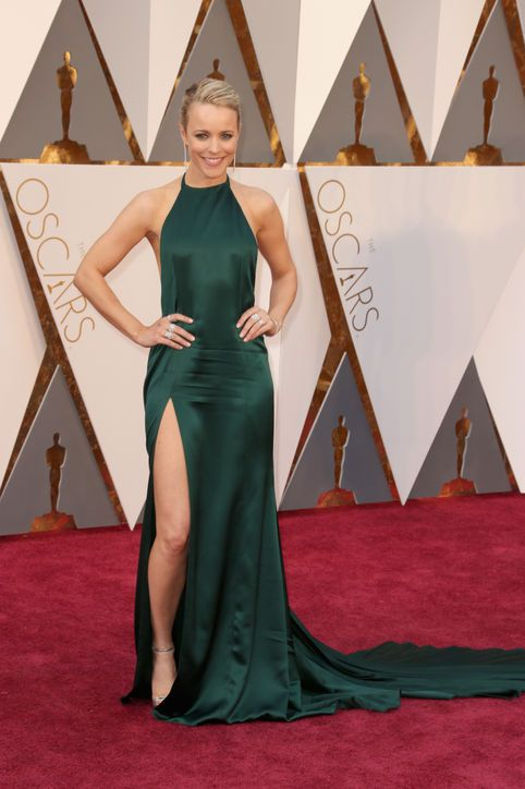 Rachel McAdams in August Getty at the Oscars