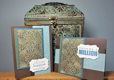 Technique: Faux Patina CardCrafts Ideas, Cards Ideas, Masculine Cards, Faux Painting, Stampin Up, Cards Techniques, Patinas Techniques, Faux Patinas, Angie Leach