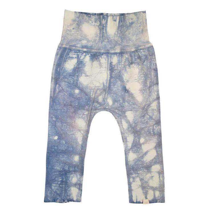 KIDS PANTS moonstone blue batik