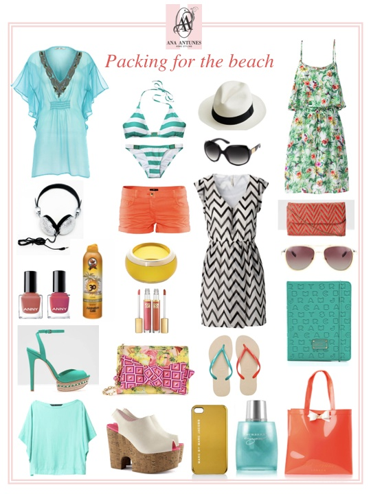 Packing For Caribbean Resort Style * Mala de Férias Versão Resort Caraíbas