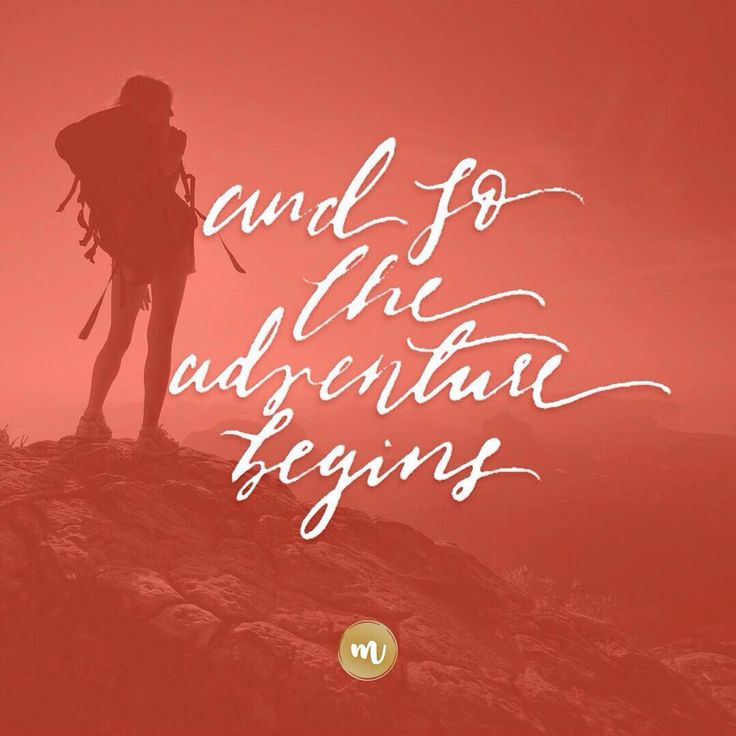 And so the adventure begins | Made of Moxie - madeofmoxie.com