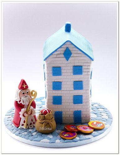 Sinterklaas taart