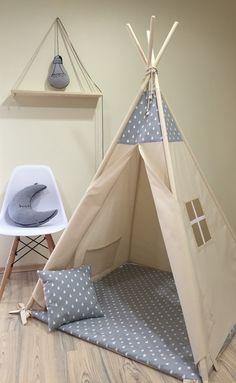 Tipi enfants jouer wigwam tente tipi pour enfants, tipi , tente, jeu tipi, tipi menthe des : Chambre d'enfant, de bébé par letterlyy