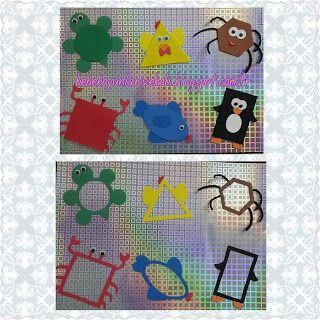 Elifce Bebek Oyunları ve Hobi: Şekiller Grafiği (okul öncesi 3 yaş etkinlikler)