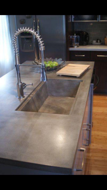 113 best Concret images on Pinterest | Küchen modern, Betonküche und ...