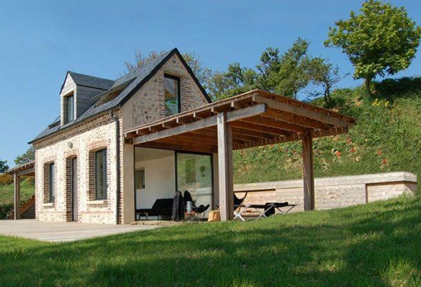 House design in village
