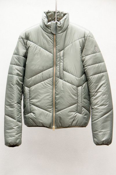 Slate Grey Puffer Jacket by Closed