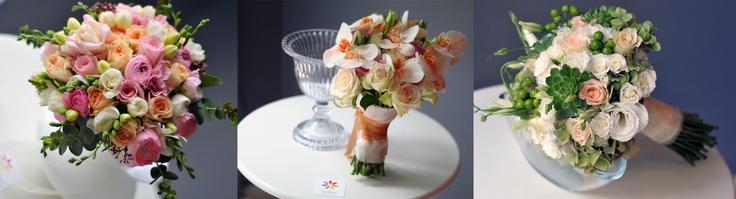 Icecream- pembe güller ve erengül -frezyalar
