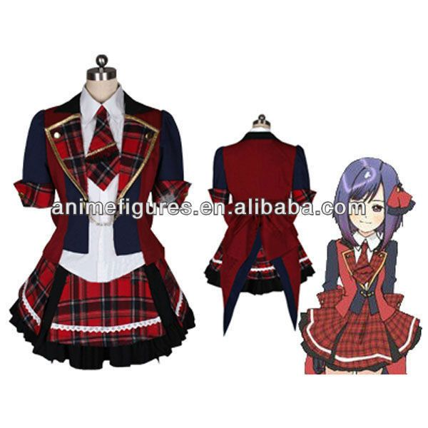 Uniforme de anime cosplay costume, vestido de anime ❤ liked on Polyvore featuring costumes, role play costumes, cosplay costumes, white costume, white halloween costumes and animal halloween costumes