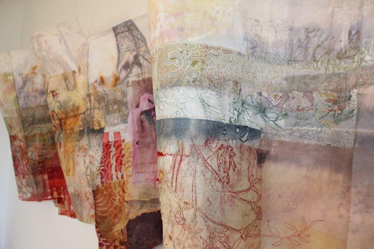 Cas Holmes, Autumn Verge, 200 x 60
