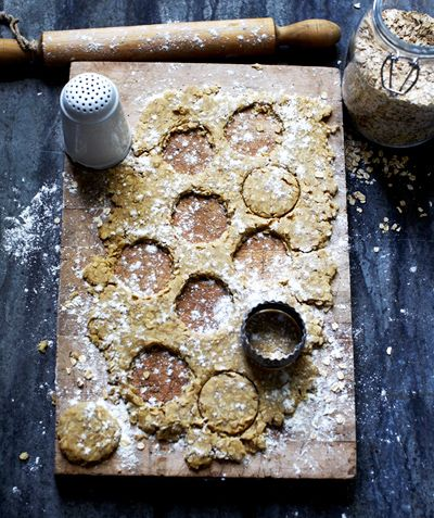 Made with just four ingredients—oatmeal, butter, water, and salt—these traditional Irish oatcakes are outstanding topped with good, creamy butter and sweet jam.