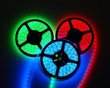 Fita LED SMD 5050 RGB 300 LEDs (60 LEDs/m) - REVOLED