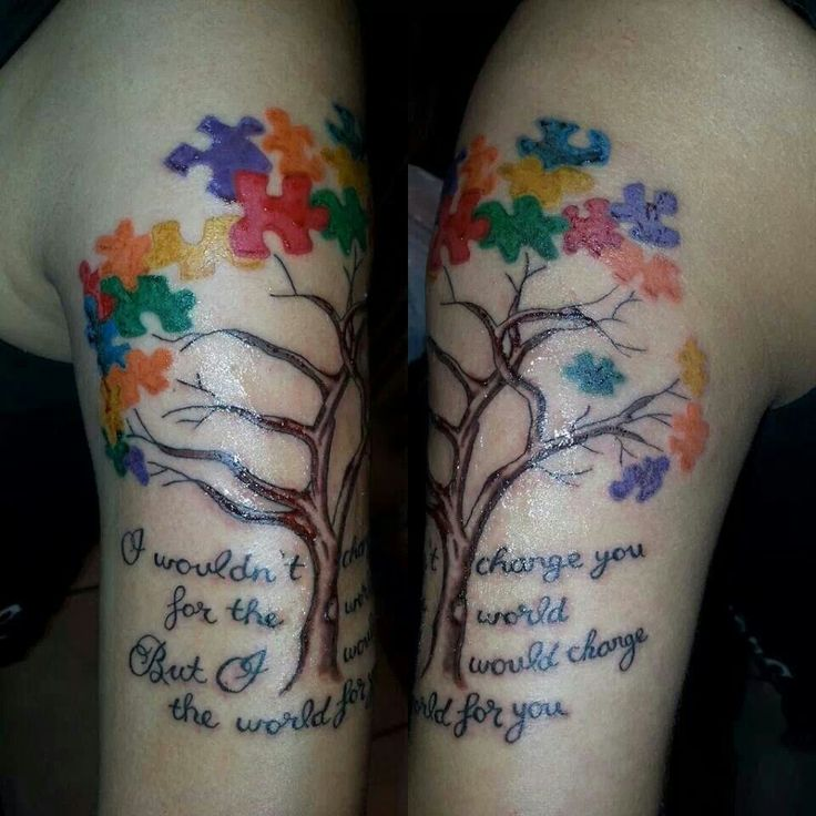 Autism Quotes For Tattoos Quotesgram: Autism And Trees