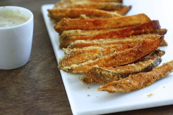Skinny Six: Crunchy zoete aardappel friet