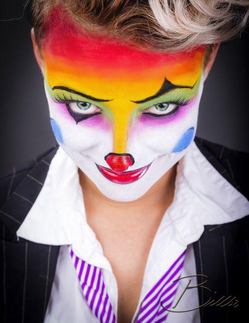Joker makeup by @makeupgeekdelux. www.Billbo.no