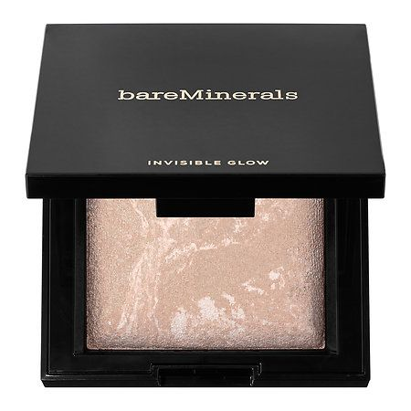 bareMinerals - Invisible Glow™ Powder Highlighter  in Fair to Light #sephora
