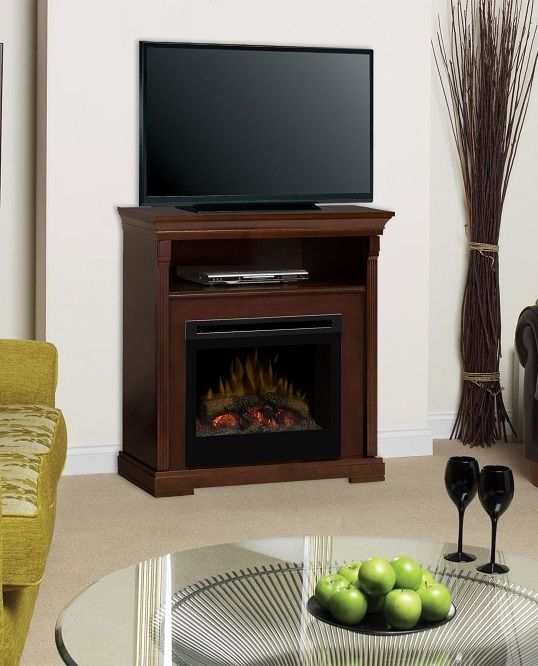 Dimplex Thorton Media Cabinet With Electric Fireplace Tv Above Fireplaces With Tvs
