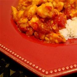 curried mango chicken | Food Ideas | Pinterest