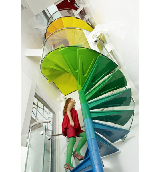 Cool And Fun Living Space – Rainbow House