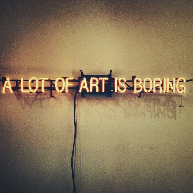 True words. #art #thompsonhotels