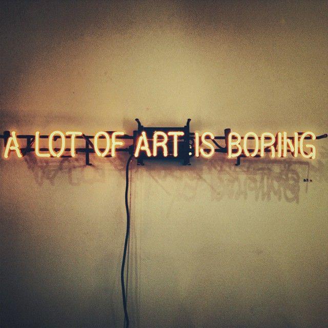 True words. #art #thompsonhotels