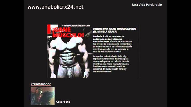 http://www.anabolicrx24.net/ Suplemento potenciador de testosterona para construir musculos y adelgazar.